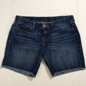 Lucky Brand Laguna Shorts Blue Denim Sz 6/28